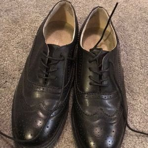 Wanted Black Oxfords